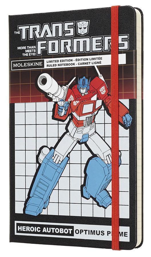 Купить <b>Блокнот Moleskine</b> Limited Edition <b>TRANSFORMERS Large</b> ...