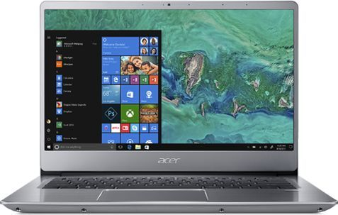 "Ультрабук ACER Swift 3 SF314-54G-813E, 14"",  IPS, Intel  Core i7  8550U 1.8ГГц, 8Гб, 512Гб SSD,  nVidia GeForce  Mx150 - 2048 Мб, Windows 10 Home, NX.GY0ER.002,  серебристый"