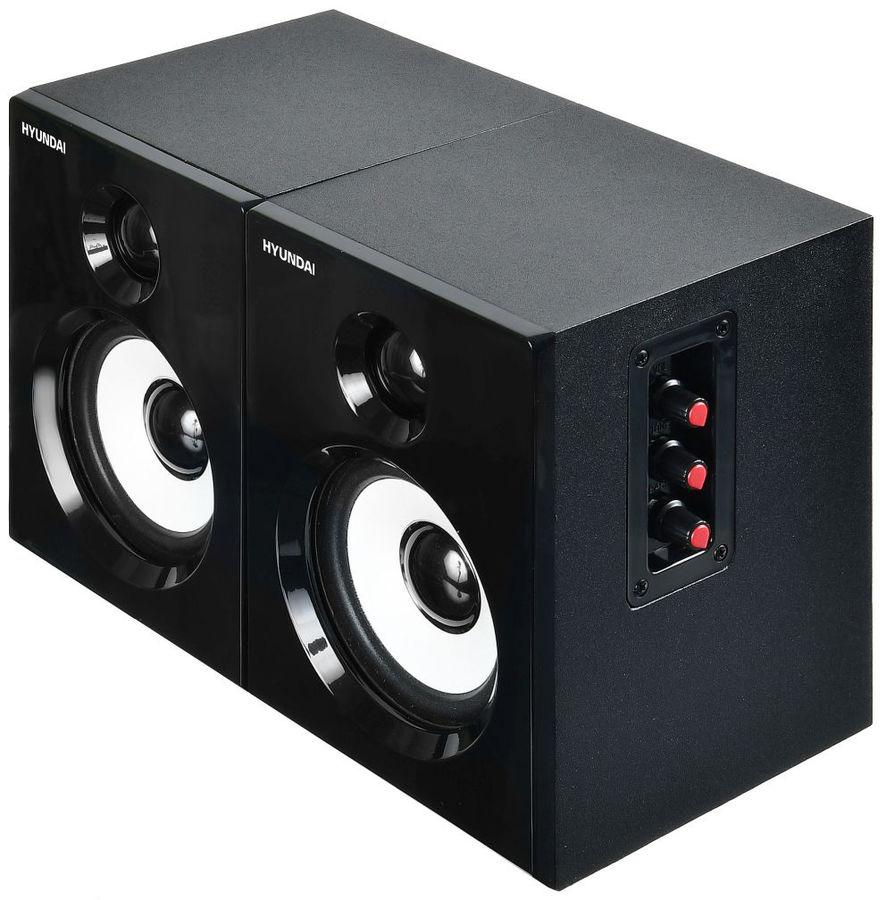 Акустическая система HYUNDAI H-HA120,  2.0,  черный