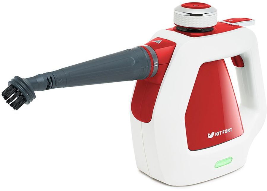 Пароочиститель KITFORT КТ-918-1,  красный