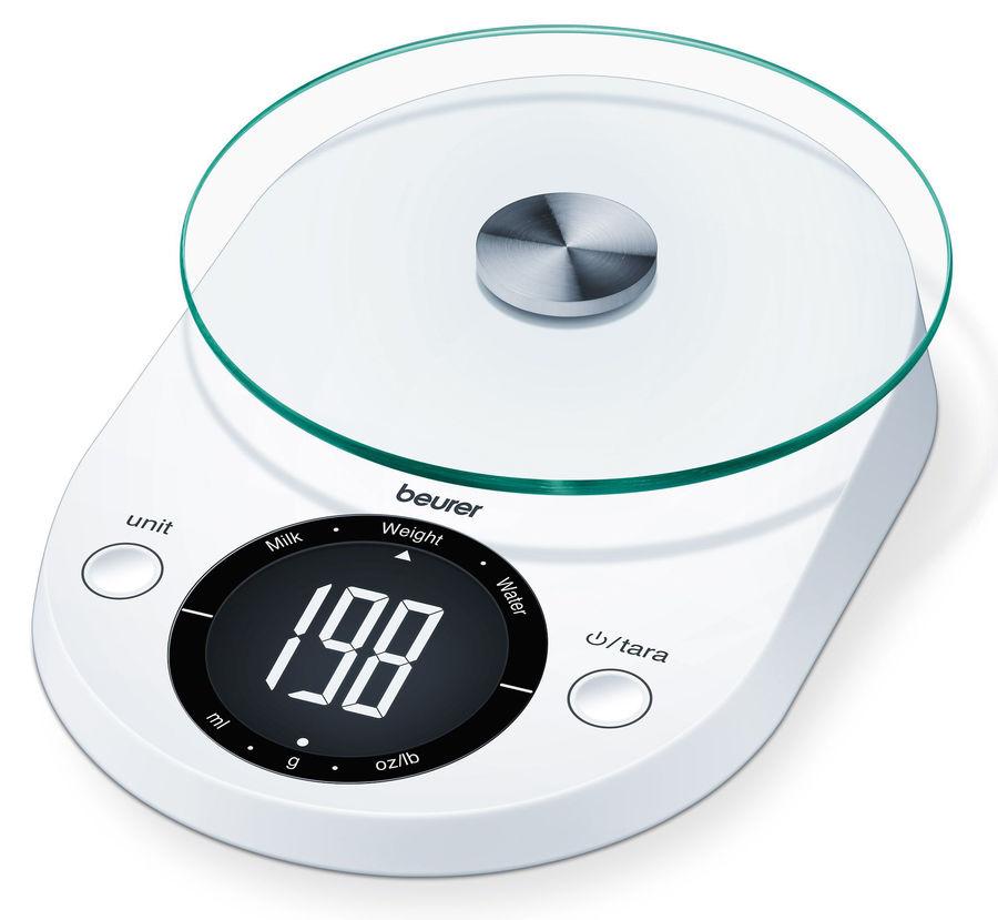 Весы кухонные BEURER KS33,  белый