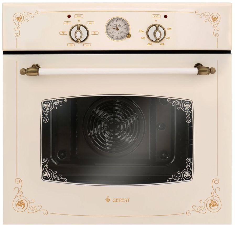 Духовой шкаф GEFEST ЭДВ ДА 602-02 К74,  кремовый