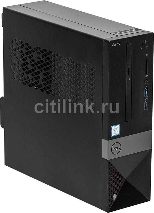 Компьютер  DELL Vostro 3470,  Intel  Core i3  8100,  DDR4 4Гб, 1000Гб,  Intel UHD Graphics 630,  DVD-RW,  CR,  Linux,  черный [3470-0908]