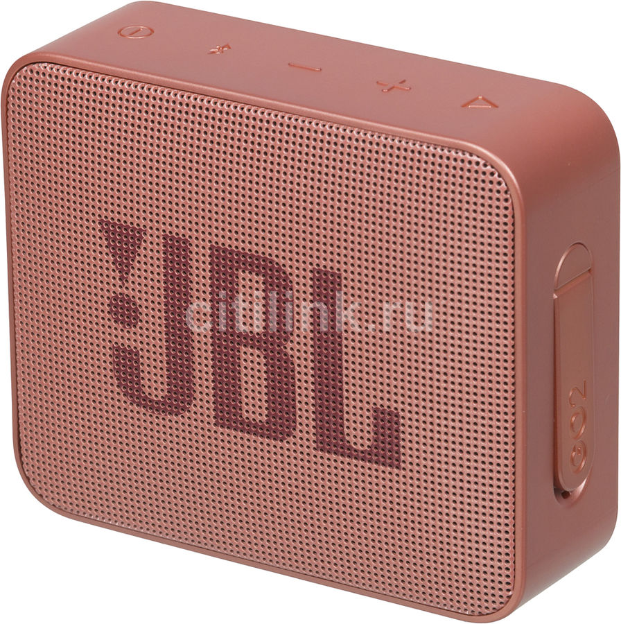 Портативная колонка JBL GO 2,  3Вт, коричневый  [jblgo2cinnamon]