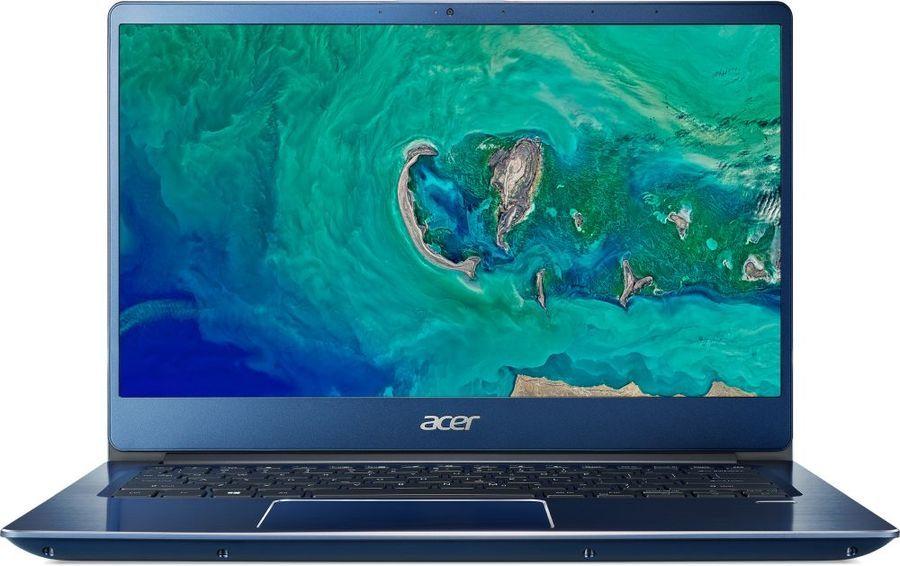"Ультрабук ACER Swift 3 SF314-54G-84H2, 14"",  IPS, Intel  Core i7  8550U 1.8ГГц, 8Гб, 512Гб SSD,  nVidia GeForce  Mx150 - 2048 Мб, Windows 10 Home, NX.GYJER.001,  синий"