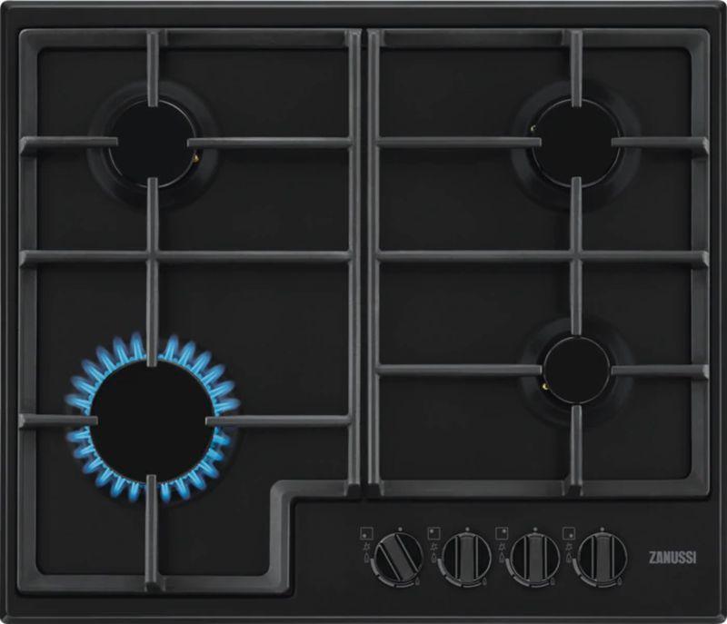 Варочная панель ZANUSSI GPZ263SB,  независимая,  черный