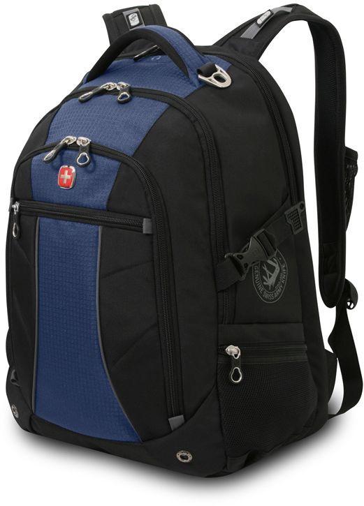 Рюкзак Wenger 900D черный/синий 3118302408 39x5x47см 32л. 1.02кг.