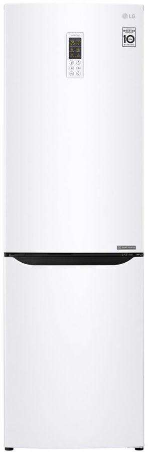 Холодильник LG GA-B419SQGL,  двухкамерный, белый