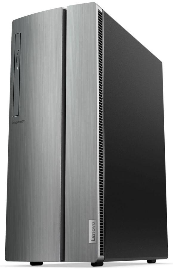 Компьютер  LENOVO IdeaCentre 510-15ICB,  Intel  Core i5  8400,  DDR4 12Гб, 1000Гб,  256Гб(SSD),  NVIDIA GeForce GTX 1050Ti - 4096 Мб,  DVD-RW,  CR,  Windows 10,  серебристый [90hu006jrs]