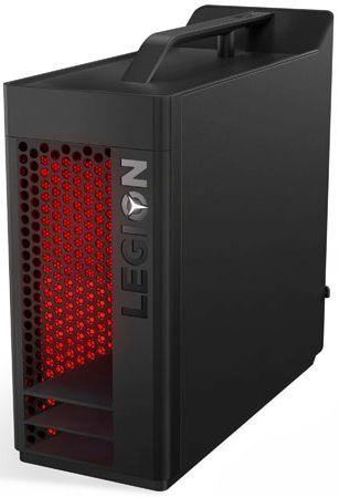 Компьютер  LENOVO Legion T530-28APR,  AMD  Ryzen 7  2700X,  DDR4 16Гб, 2Тб,  256Гб(SSD),  NVIDIA GeForce GTX 1060 - 6144 Мб,  DVD-RW,  Windows 10,  черный [90jy000yrs]