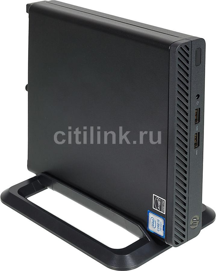 Компьютер  HP 260 G3,  Intel  Core i3  7130U,  DDR4 4Гб, 256Гб(SSD),  Intel HD Graphics 620,  Windows 10 Professional,  черный [4qd06ea]