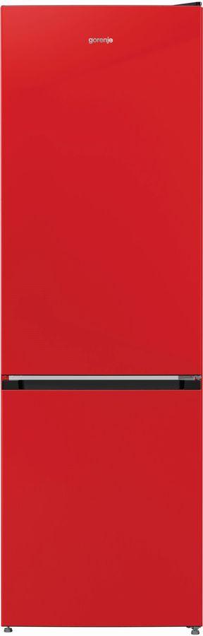 Холодильник GORENJE NRK6192CRD4,  двухкамерный, красный