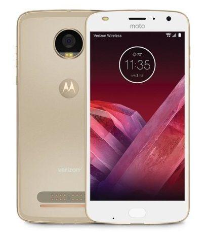 Смартфон MOTOROLA Z2 PLAY 64Gb,  XT1710-09,  золотистый