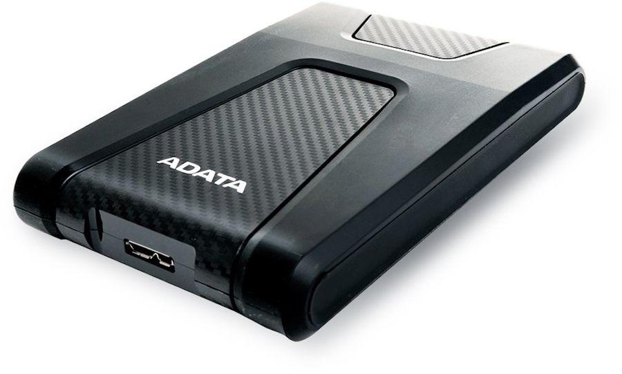 Внешний жесткий диск A-DATA DashDrive Durable AHD650, 1Тб, черный [ahd650-1tu31-cbk]