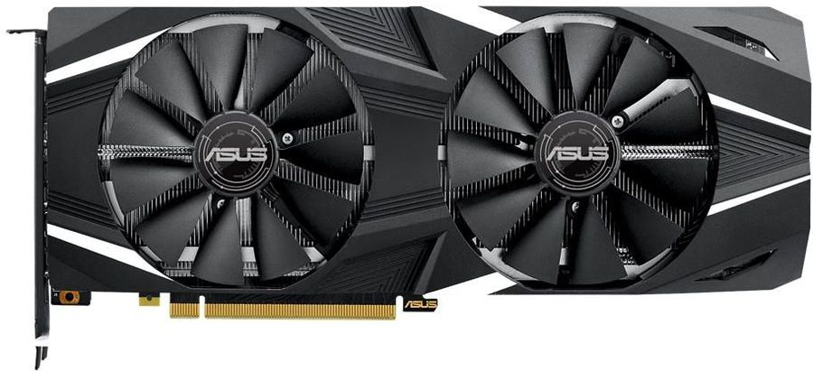 Видеокарта ASUS nVidia  GeForce RTX 2070 ,  DUAL-RTX2070-A8G,  8Гб, GDDR6, Ret