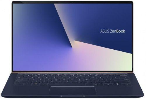 """Ультрабук ASUS Zenbook UX433FA-A5093T, 14"""",  Intel  Core i3  8145U 2.1ГГц, 8Гб, 256Гб SSD,  Intel UHD Graphics  620, Windows 10, 90NB0JR1-M01380,  темно-синий"""