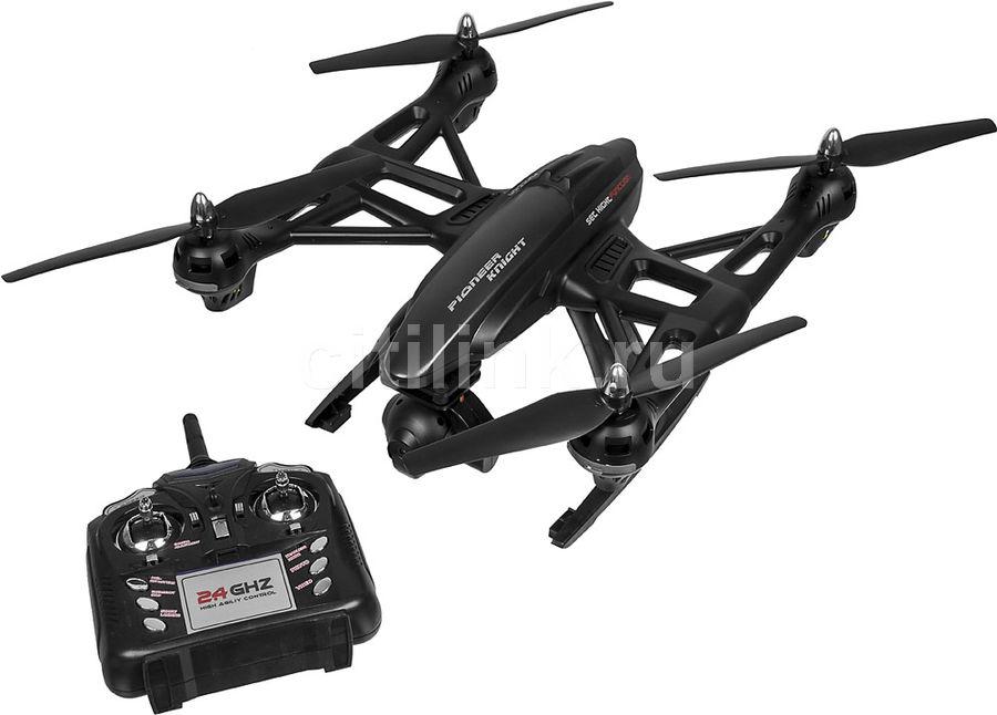 Квадрокоптер JXD Pioneer Knight с камерой,  черный [jxd-507v]