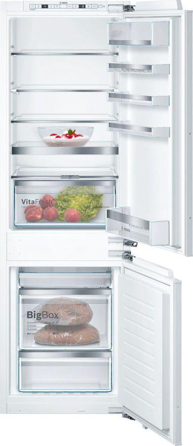 Встраиваемый холодильник BOSCH KIN86HD20R белый