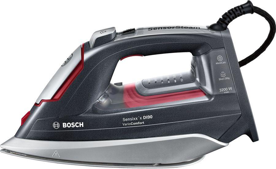 Утюг BOSCH TDI953222V,  3200Вт,  черный