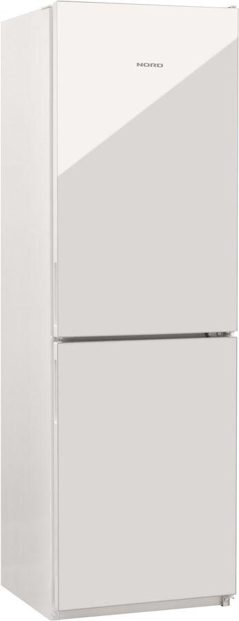 Холодильник NORD NRG 119NF 042,  двухкамерный, белое стекло [00000251259]