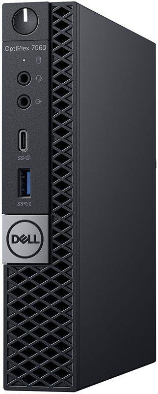 Компьютер  DELL Optiplex 7060,  Intel  Core i5  8500T,  DDR4 8Гб, 256Гб(SSD),  Intel UHD Graphics 630,  Windows 10 Professional,  черный [7060-7731]