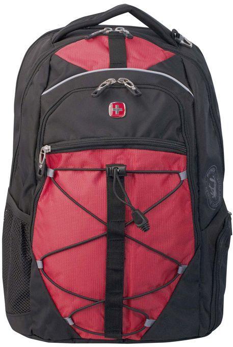 Рюкзак Wenger 6772201408 черный/красный 34x46x19см 30л. 1кг.