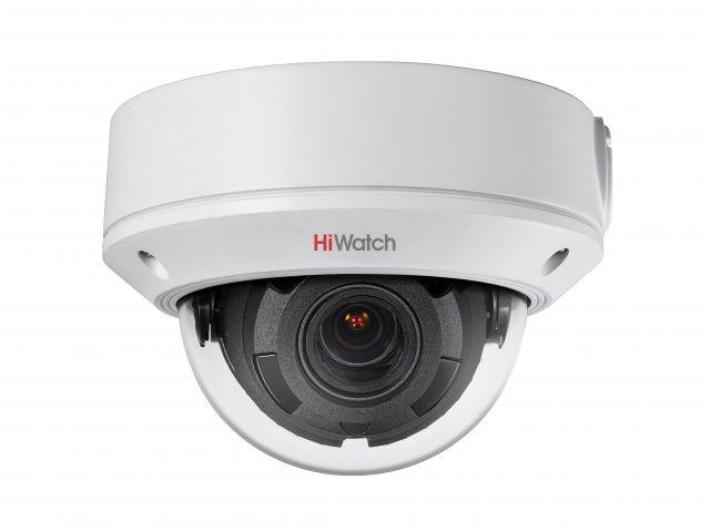 Видеокамера IP HIKVISION HiWatch DS-I258,  2.8 - 12 мм,  белый