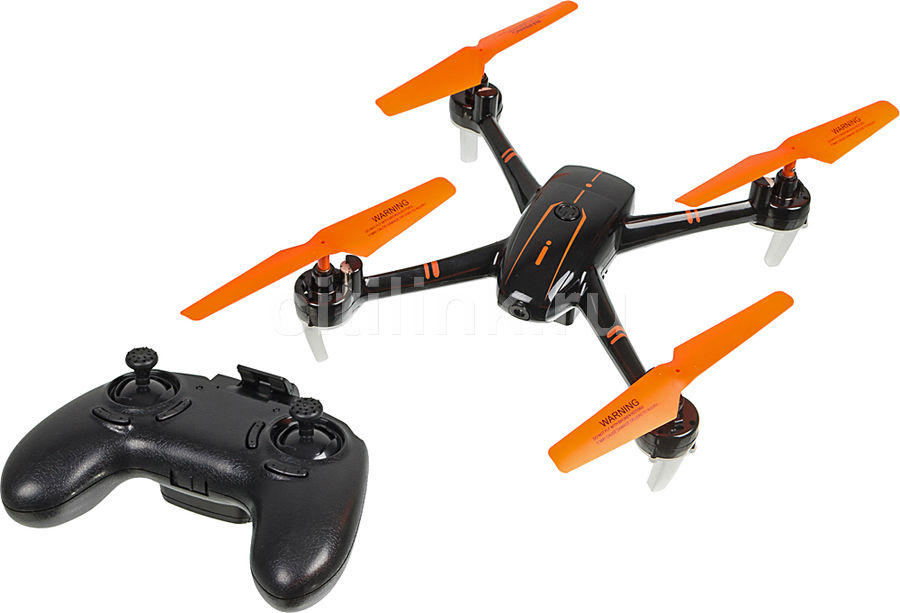 Квадрокоптер PILOTAGE Shadow FPV с камерой,  черный [rc62321]