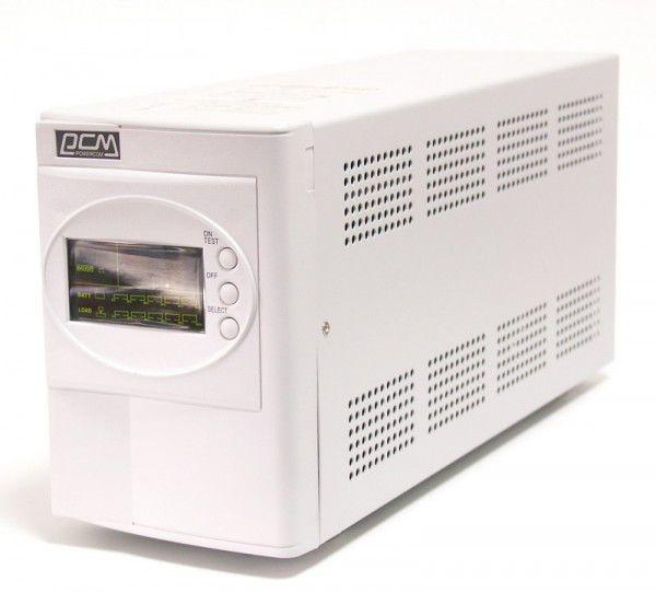 Источник бесперебойного питания POWERCOM Smart King SMK-800A-LCD,  800ВA [smk-800g-8c0-0011]