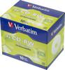 Оптический диск CD-RW VERBATIM 700Мб 4x, 10шт., jewel case [43123] вид 1