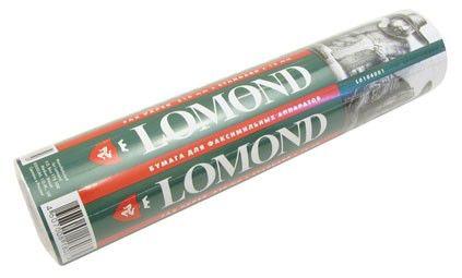 Бумага Lomond 210mm for faxes 30m (0104001)