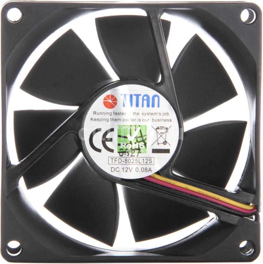 Вентилятор TITAN TFD-8025L12S,  80мм, Ret