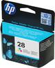 Картридж HP 28 многоцветный [c8728ae] вид 1