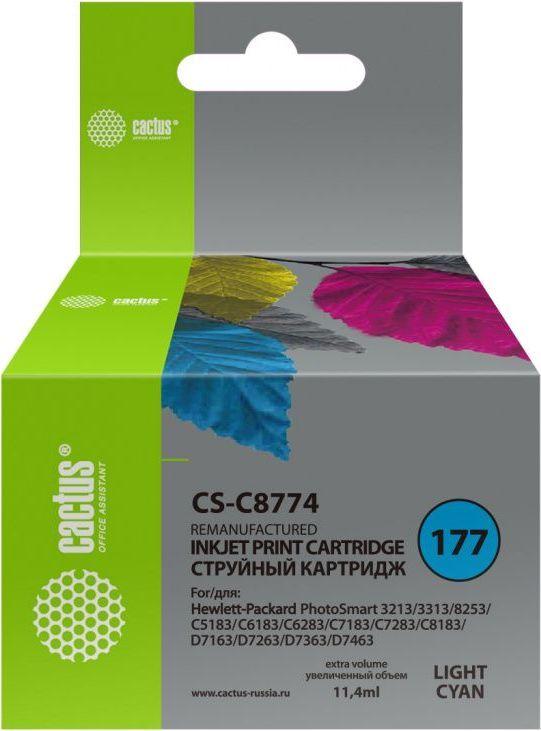Картридж CACTUS CS-C8774 светло-голубой