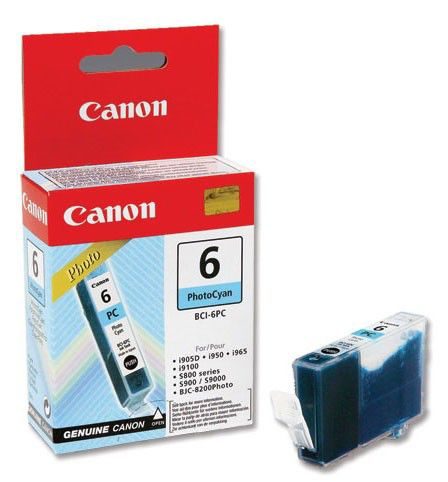 Картридж CANON BCI-6PC голубой [4709a002]