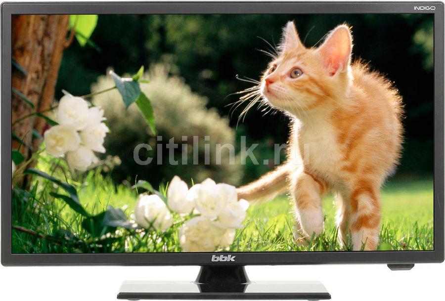 "LED телевизор BBK 19LEM-1005/T2C  ""R"", 19"", HD READY (720p),  черный"