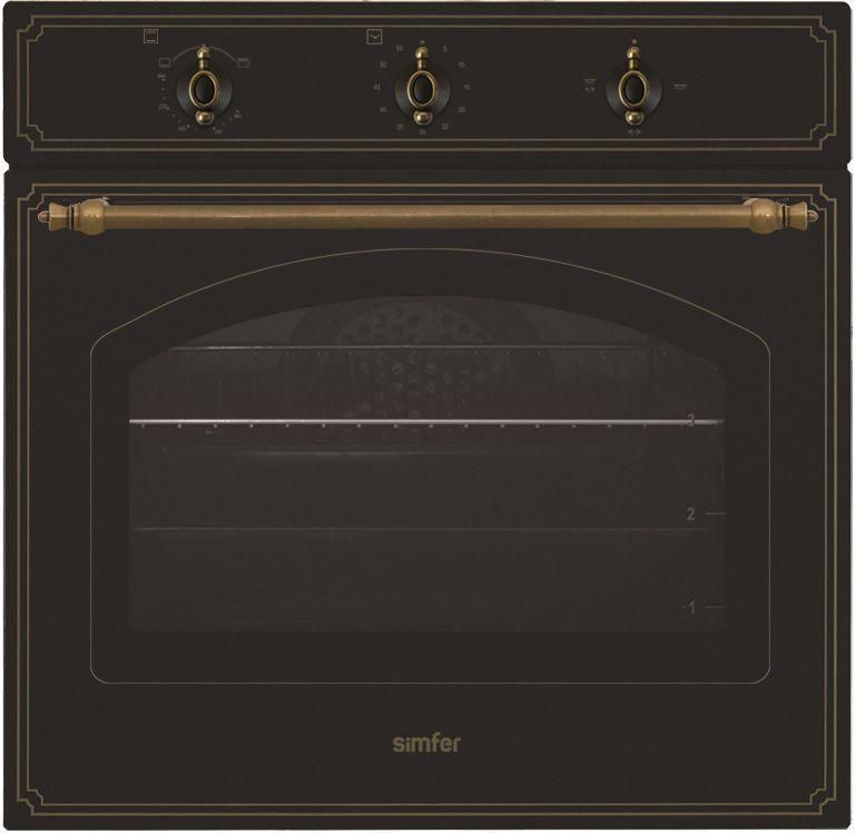 Духовой шкаф SIMFER B6EL15001,  антрацит