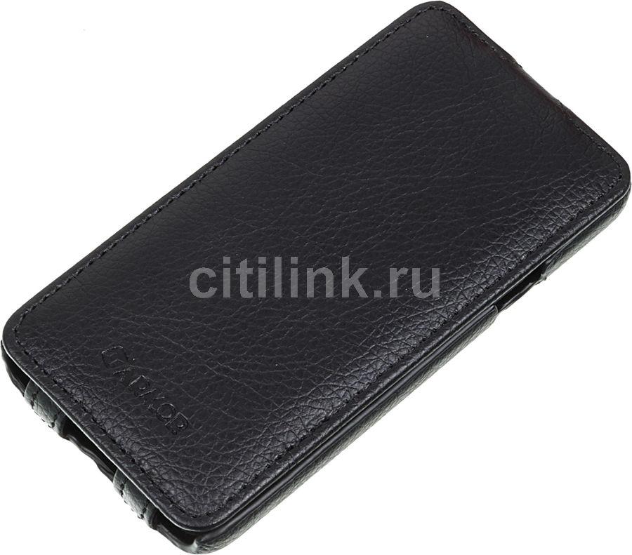 Чехол (флип-кейс) ARMOR-X flip full, для Samsung Galaxy A3, черный
