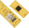 Радиотелефон PANASONIC KX-TGC310RUY,  белый и желтый вид 4