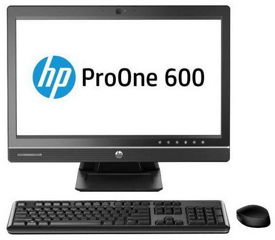 Моноблок HP ProOne 600 G1, Intel Core i7 4790s, 8Гб, 1000Гб, AMD Radeon HD 7650A - 2048 Мб, DVD-RW, Windows 7 Professional, черный [j7d65ea]