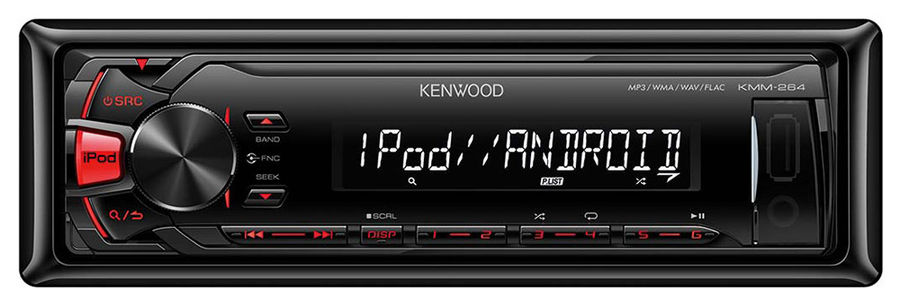 Автомагнитола KENWOOD KMM-264,  USB