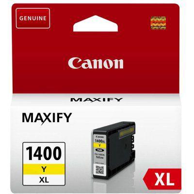 Картридж CANON PGI-1400XLY желтый [9204b001]