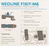 Держатель NEOLINE Fixit M6,  черный вид 12