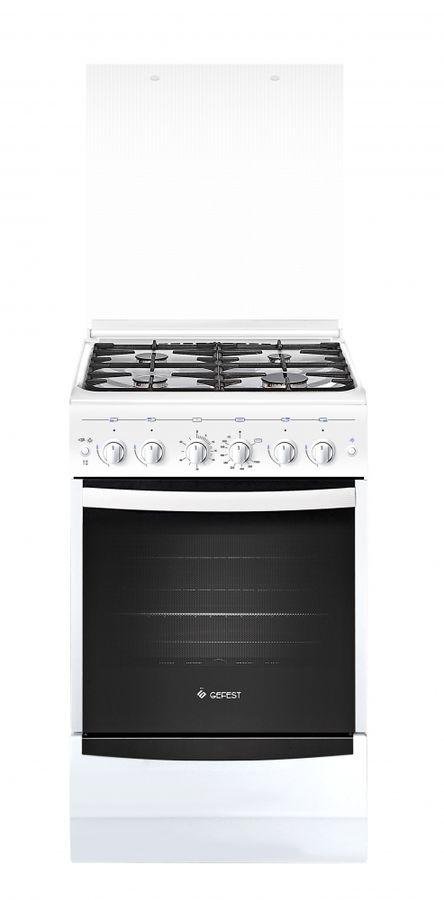 Газовая плита GEFEST 5100-02 0002,  газовая духовка,  белый [пг 5100-02 0002]