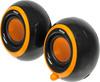 Колонки BBK CA-201S,  черный,  оранжевый [ca-201s ч/о] вид 1