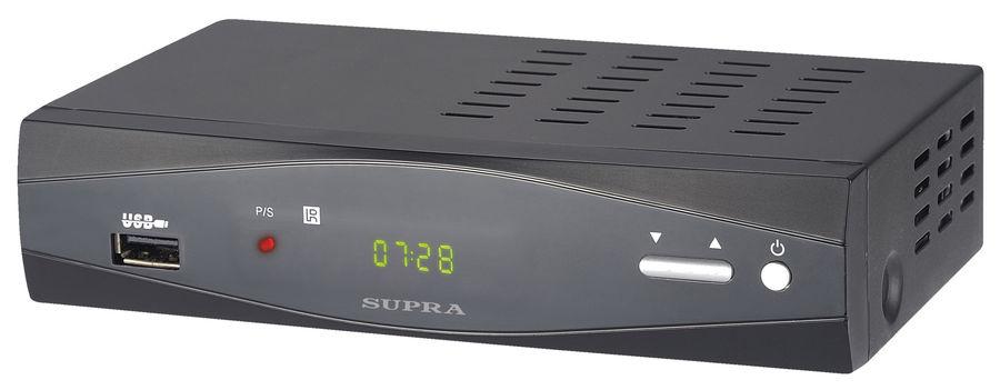 Ресивер DVB-T2 SUPRA SDT-96,  черный [дубль использовать 895497]