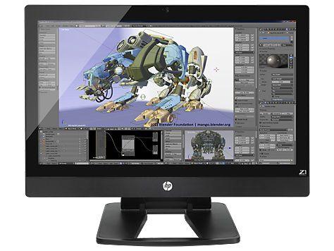 Моноблок HP Z1 G2, Intel Xeon E3-1281 v3, 16Гб, 256Гб SSD,  nVIDIA Quadro K3100M - 4096 Мб, DVD-RW, Windows 7 Professional, черный [j9x95es]