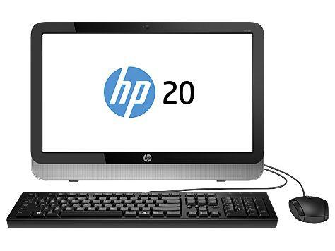 Моноблок HP Pavilion 20-2210ur, AMD E1 6010, 4Гб, 500Гб, AMD Radeon R2, DVD-RW, Windows 8.1, черный и серебристый [k2f48ea]