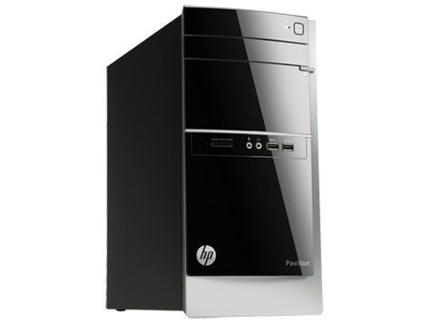 Компьютер  HP Pavilion 500-502ur,  AMD  A10  5700,  DDR3 8Гб, 1000Гб,  AMD Radeon R7 240 - 2048 Мб,  DVD-RW,  CR,  Windows 8.1,  черный и серебристый [l1v79ea]