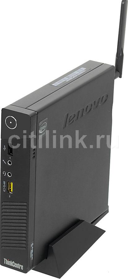 Компьютер  LENOVO ThinkCentre M53 Tiny,  Intel  Celeron  J1800,  DDR3 2Гб, 500Гб,  Intel HD Graphics,  Free DOS,  черный [10de0014ru]